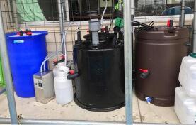 くにさきエコシステム提供の小型バイオガス装置
