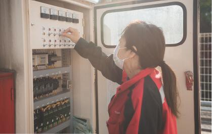 くにさきエコシステムの浄化槽点検